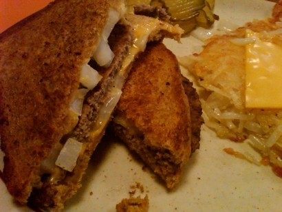 Barbara Lee's Kitchen Patty Melt