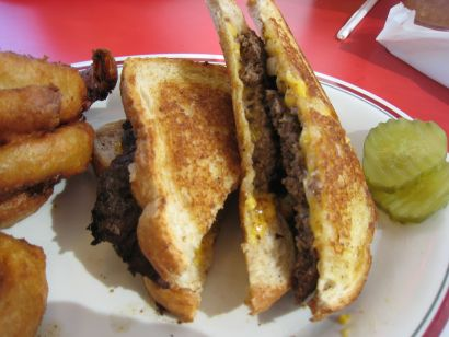 Huddle House Patty Melt