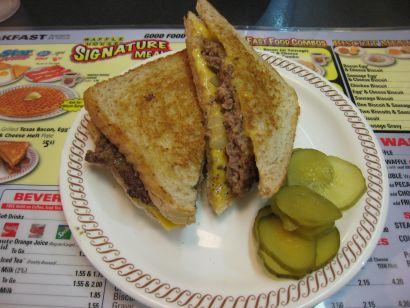 Waffle House Patty Melt